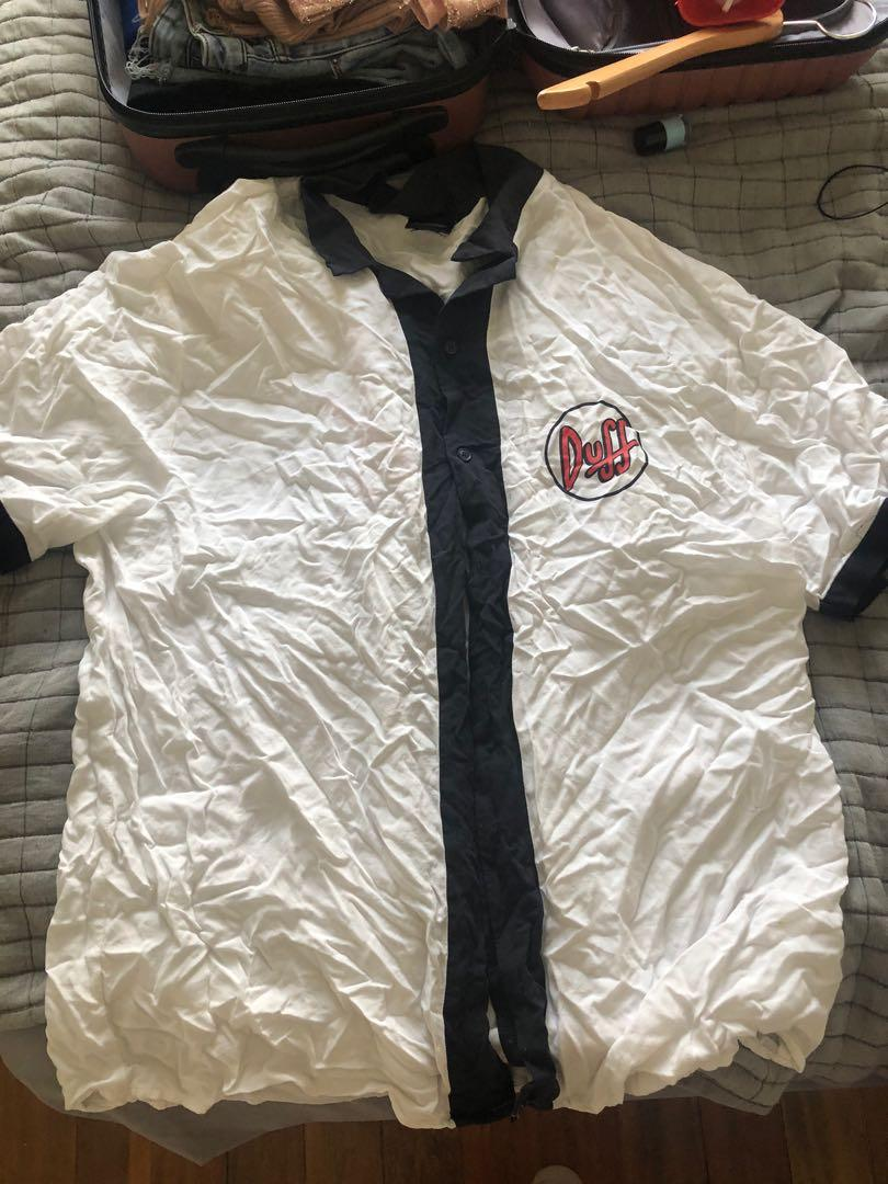 Simpson's baseball jersey