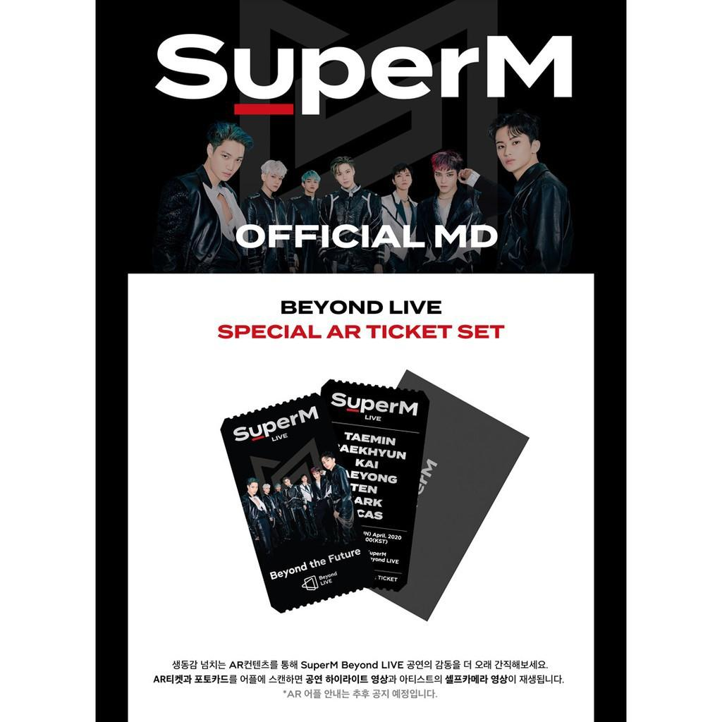 SUPER-M Beyond LIVE Beyond the Future SPECIAL AR TICKET SET
