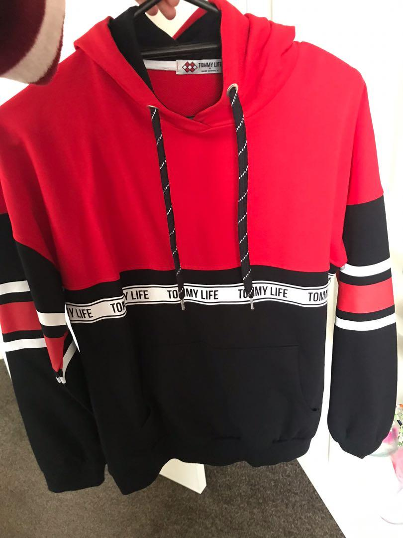 Tommy Life sweater size M to fit S + matching track pants