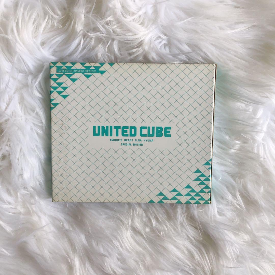 UNITED CUBE—4MINUTE+BEAST+G.NA+HYUNA(SPECIAL EDITION)