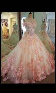 WEDDING/RECEPTION/BIRTHDAY DRESS