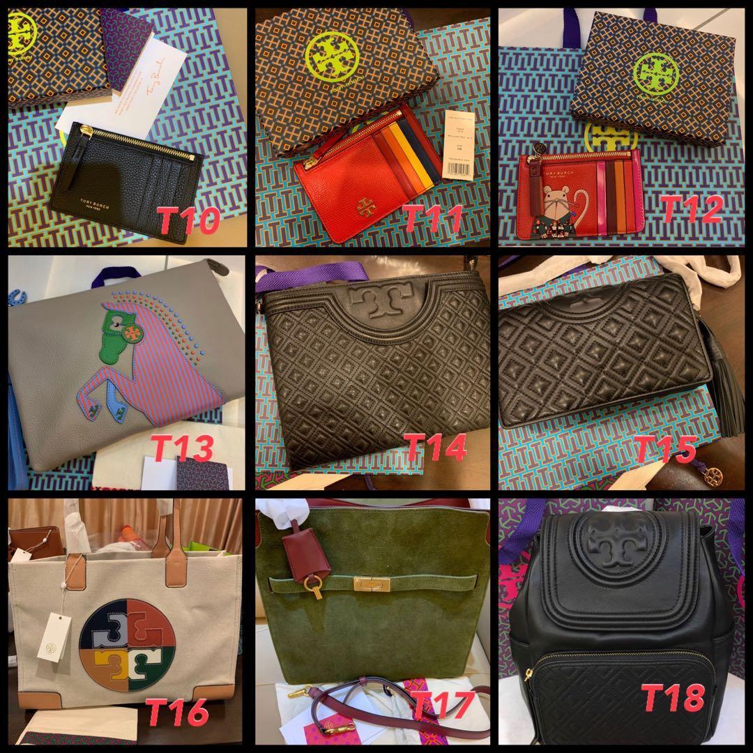 (10/05/20) Ready stock raya promotion Tory Burch n coach sling bag marc Jacobs Kate spade wallet crutch lanyard card holder