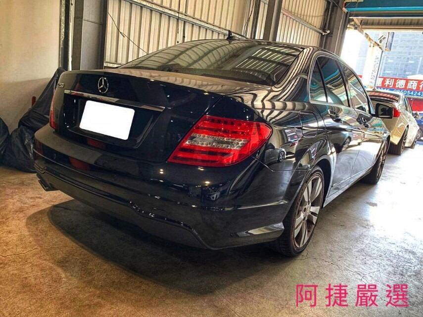 2012年 Mercedes-Benz C250 無薪轉勞保 信用瑕疵 皆可辦理 只需要雙證件強力過件