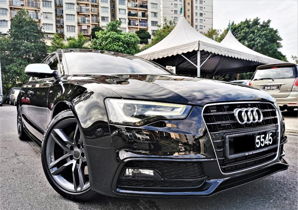 2013 Audi A5 2.0 TFSI Quattro S Line facelift [TIPTOP][LOW MILEAGE][1 VIP OWNER][Alcantara seat]