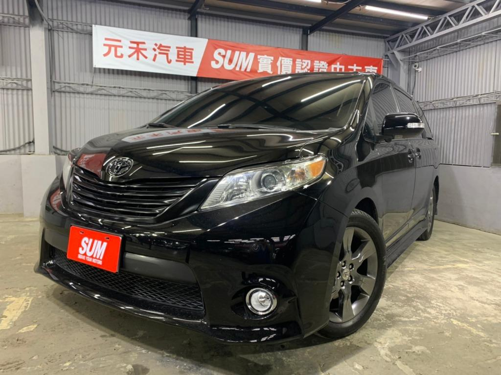 正2013年出廠 最新款Toyota Sienna Limited 4WD 黑色