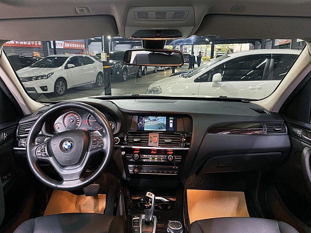 正2015年出廠 BMW X3 X-Drive 20d 白色