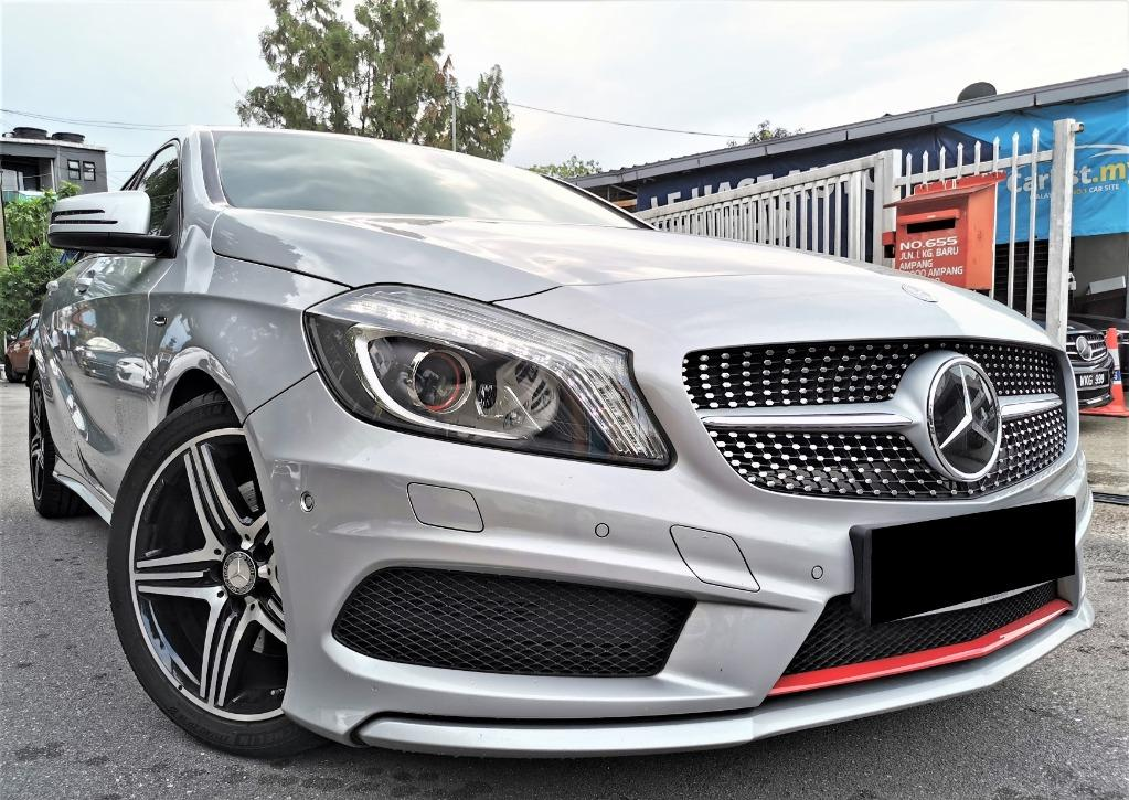2015 Mercedes Benz A250 AMG (CBU)2.0 [UNDER WARRANTY 2021][FULL SERVICE RECORD][LOW MILEAGE 60,000KM ONLY][1 LADY OWNER]