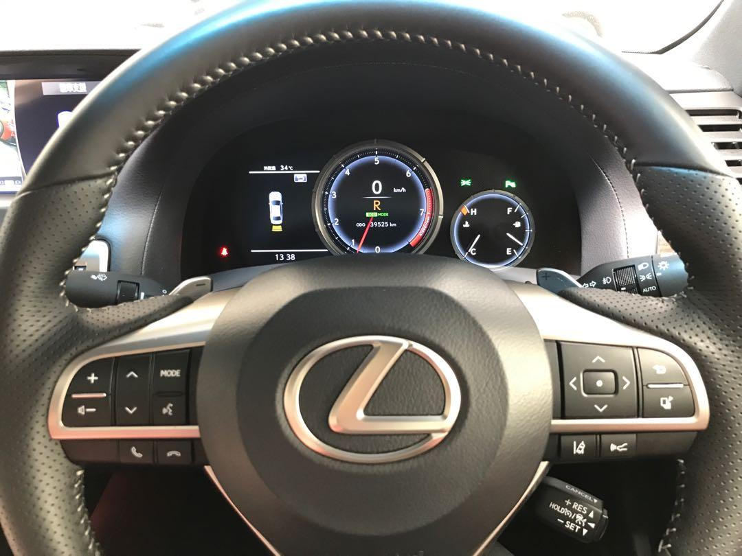 2016 Lexus GS250 2.5 F Sport Sunroof Red Leather High Spec