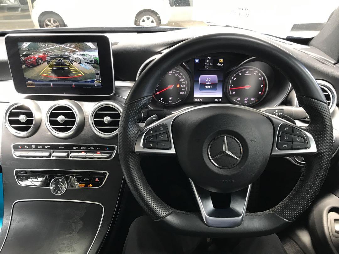 2016 Mercedes-Benz C200 2.0 Coupé AMG Premium Plus