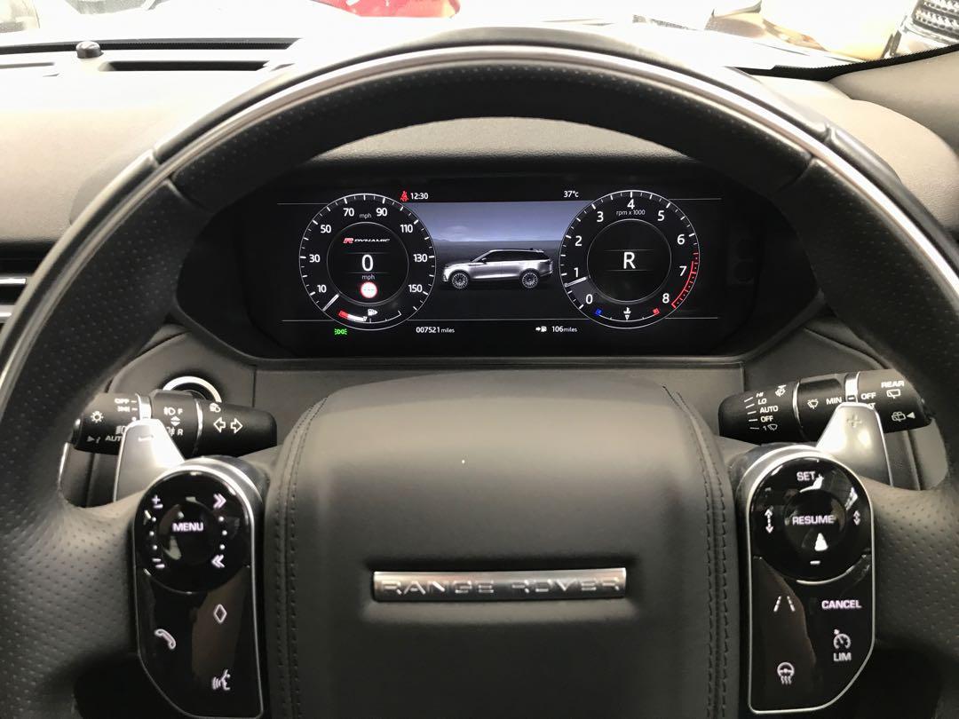 2019 Land Rover Range Rover Velar 3.0 P250 HSE R-DYNAMIC