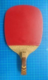蝴蝶牌 碳纖維 CARBON 7200 日式直拍 桌球拍 乒乓球拍