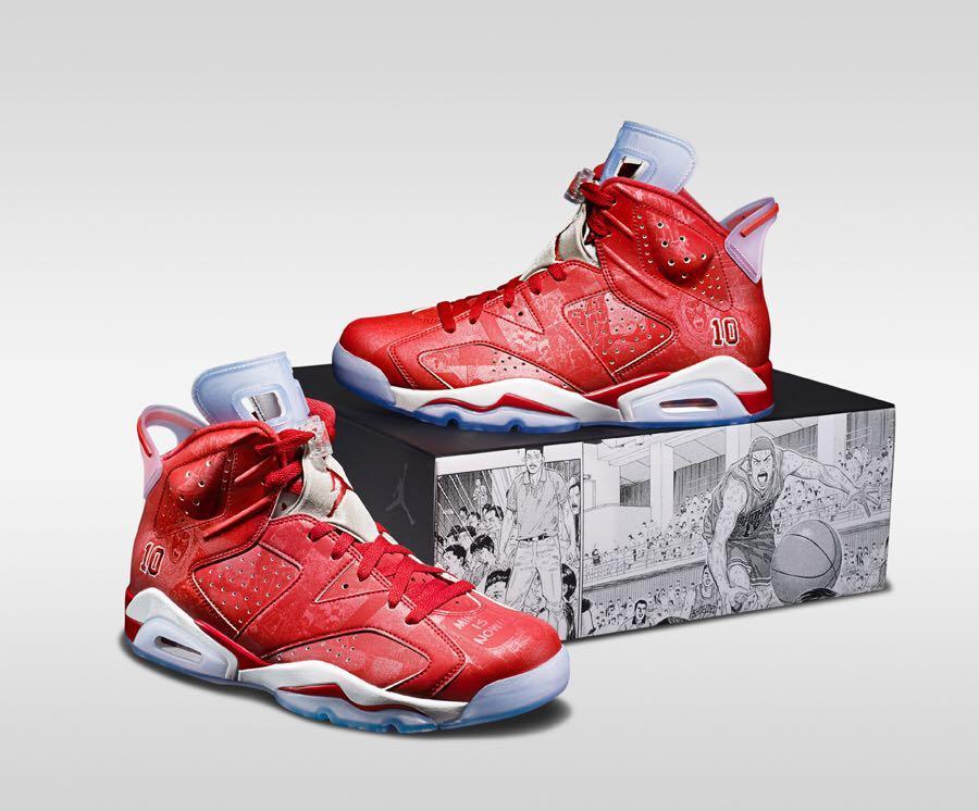 Air Jordan 6 Retro SLAM DUNK, Men's