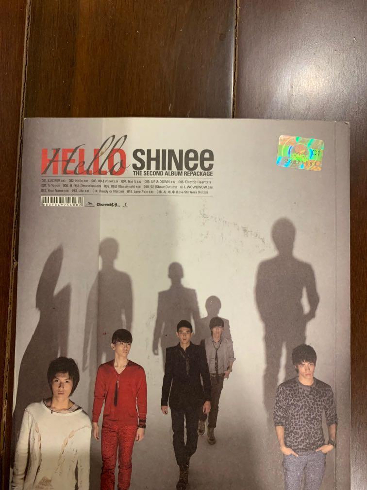 ALBUM SHINEE HELLO SECOND REPACKAGED ALBUM ORIGINAL MADE IN KOREA