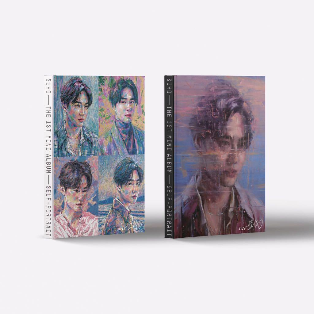 [CLEARANCE/READYSTOCK] SUHO SELF PORTRAIT ALBUM EXO