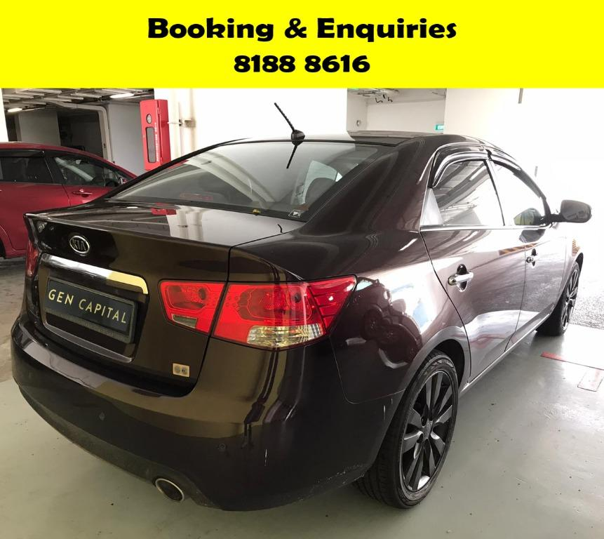 Kia Cerato HAPPY MOTHERS' DAY PROMO 50% OFF! FULLY SANITISED AND GROOMED! WHATSAPP 8188 8616 NOW TO RESERVE A CAR TODAY!