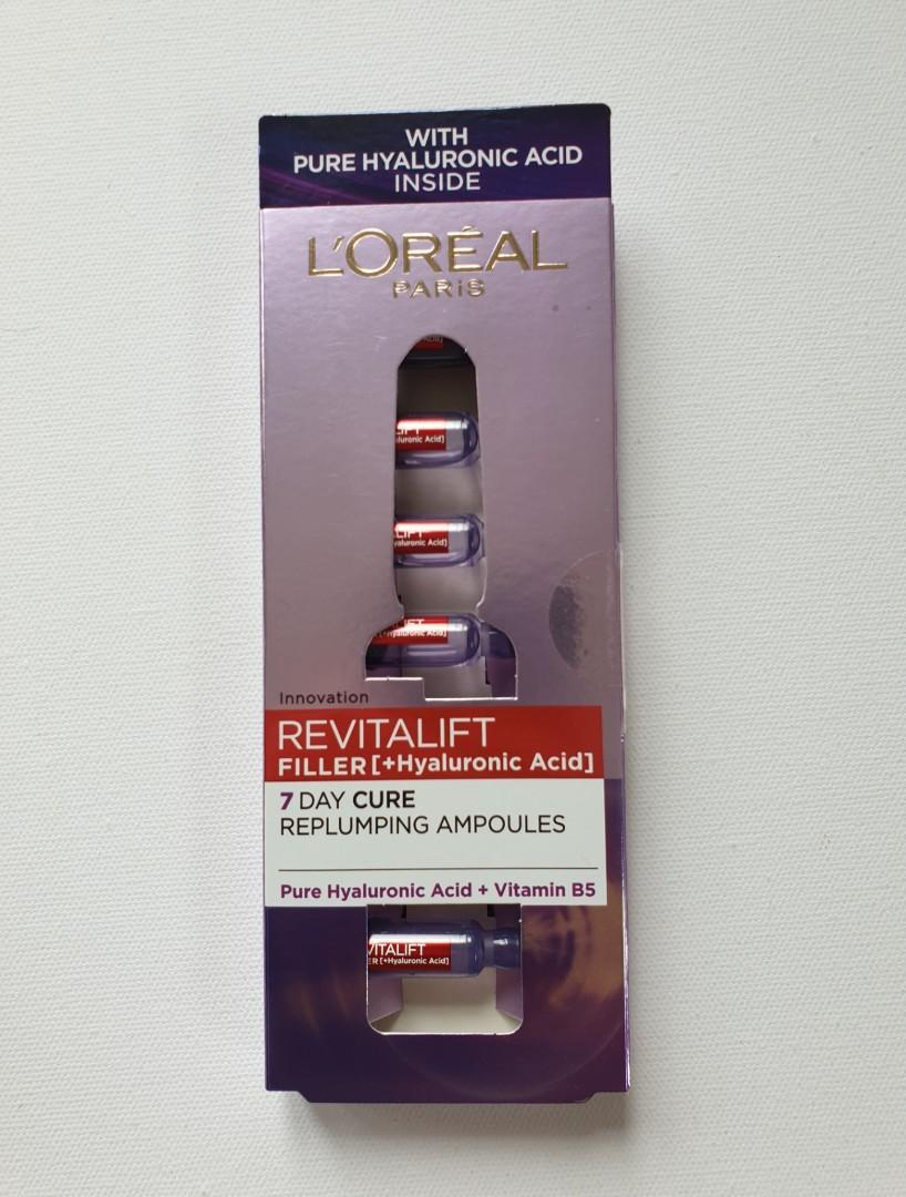 Loreal revitalift filler 7 day cure replumping ampoules