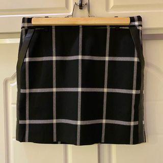 🛍二手衣大拍賣🛍 #MANGO #黑白格子短裙