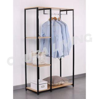 OKURA 3 Tier Wardrobe Modern Home Living