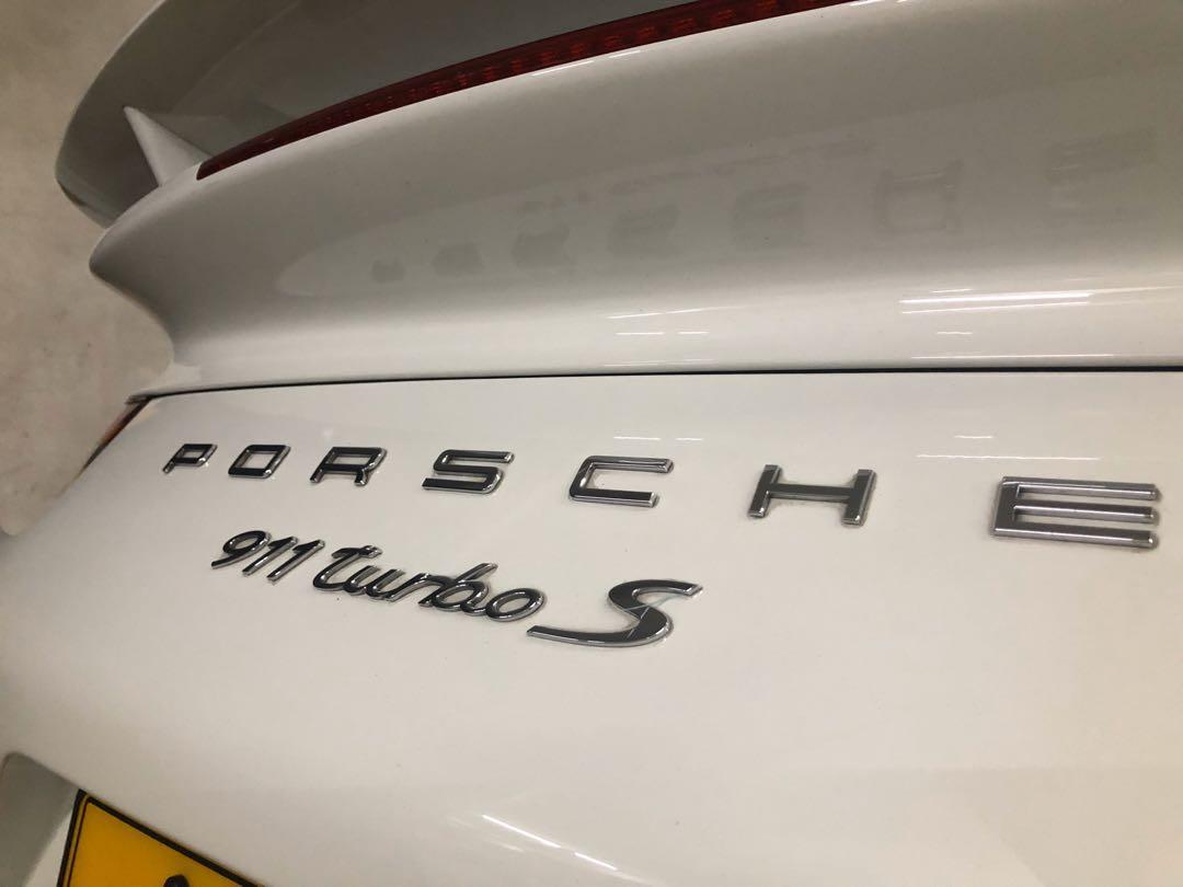 Porsche 911 Turbo S Auto