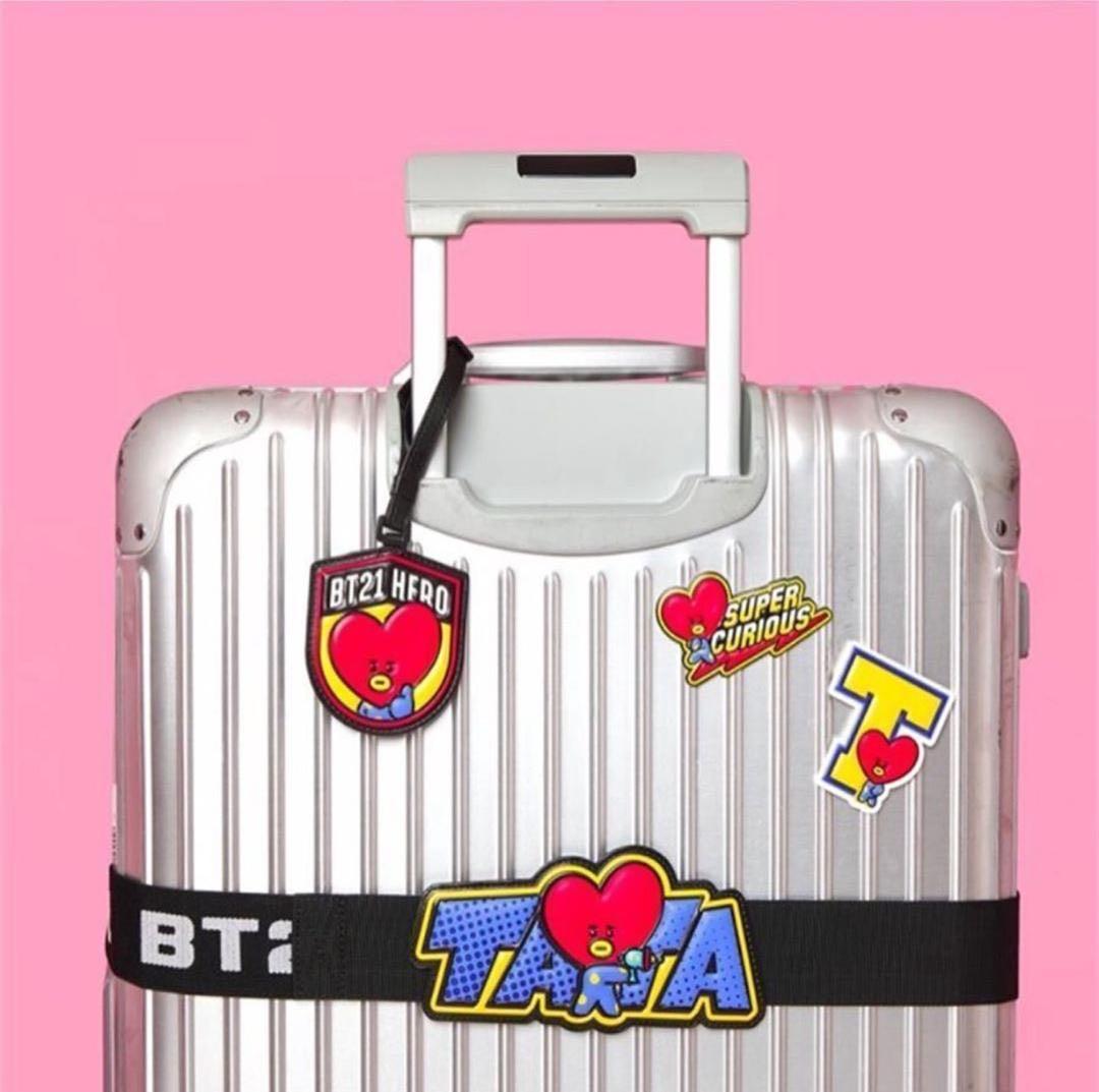 [PROMO RAYA] [BTS] BT21 UNOFFICIAL LUGGAGE STICKER