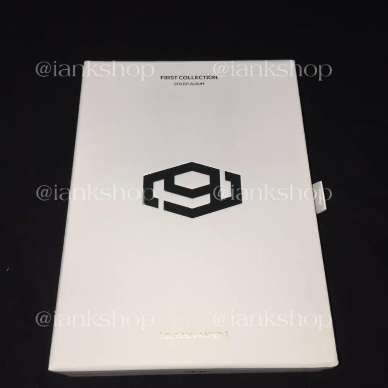 [READYSTOCK]  SF9 - FIRST COLLECTION GOLDEN RATED VER. (UNSEALED)