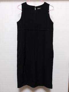 SO FROCKING GOOD Black Sleeveless Dress