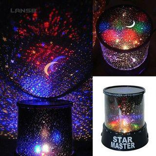 SS Romantic Sky Star LED Starry Night Light Party Cosmos Master Projector
