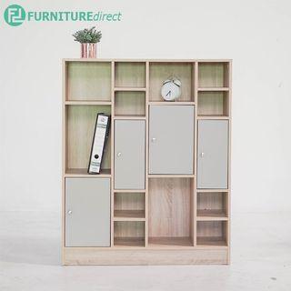 TAD LAWSON bookshelf cabinet filing cabinet with door