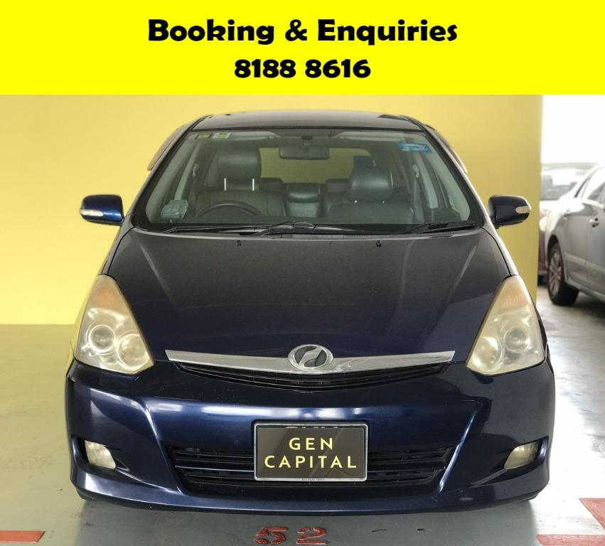 Toyota Wish HAPPY MOTHERS' DAY PROMO 50% OFF! FULLY SANITISED AND GROOMED! WHATSAPP 8188 8616 NOW TO RESERVE A CAR TODAY!