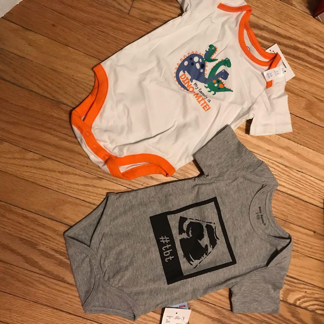 Two new with that onesie
