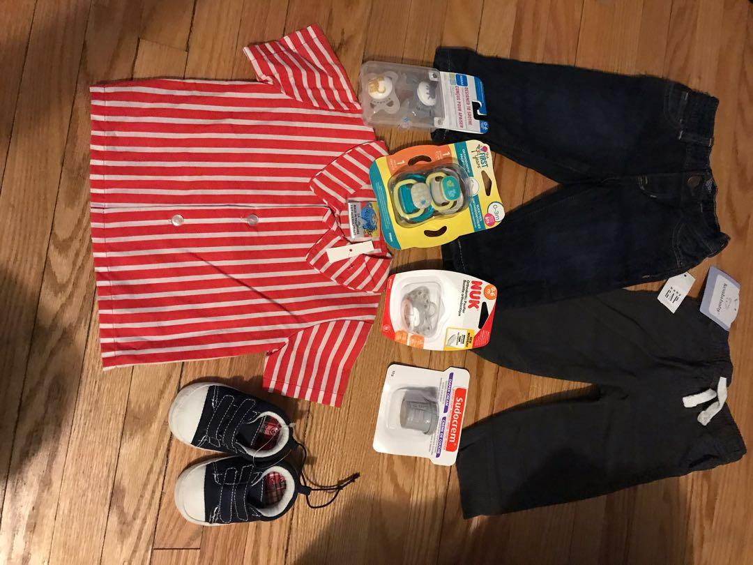 Various new baby items