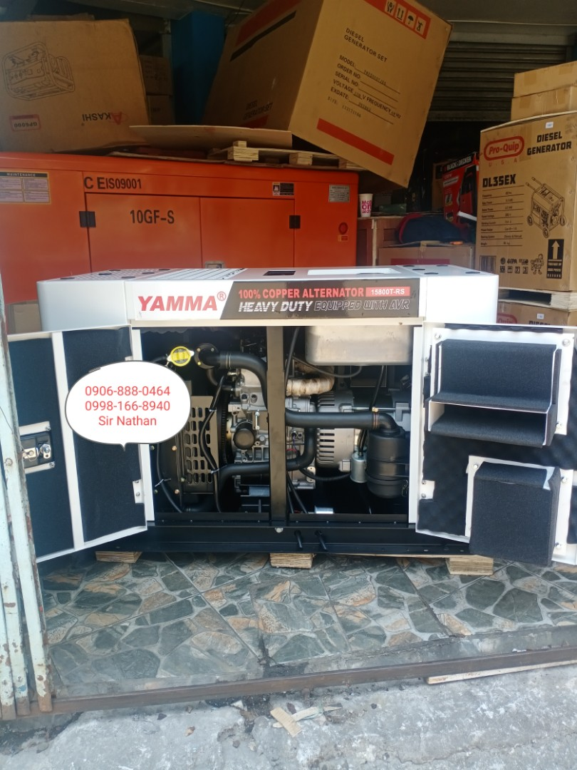 12 KVA Water Cooled Diesel Generator