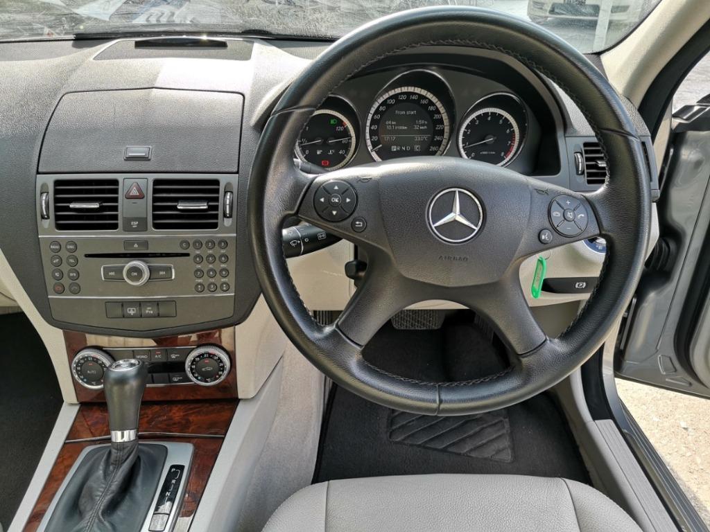 2009 Mercedes-Benz C200 CGI 1.8 Avantgarde Sedan [1 YEAR WARRANTY][ONE OWNER][LOCAL][LIKE NEW]