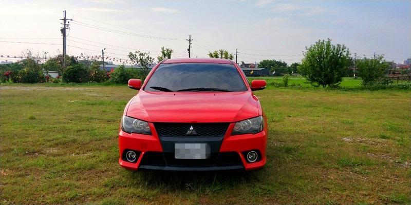 2010/Lancer Fortis/1.8/ 紅