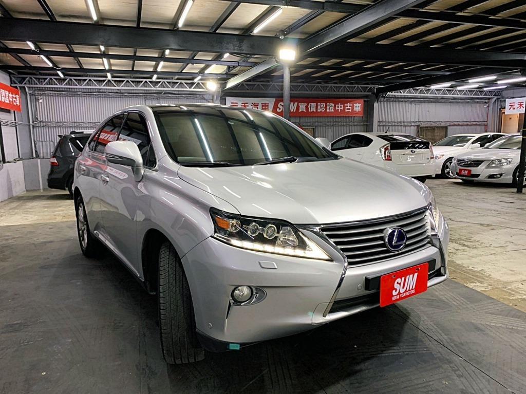 正2012年 Lexus Rx450h 3.5升頂級旗艦版.只賣66.8萬