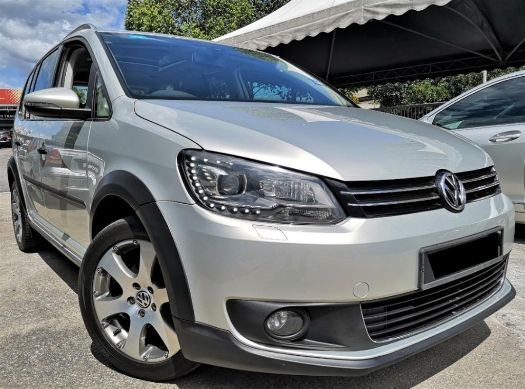2012 Volkswagen Touran 1.4 (A)[ONE OWNER][TIP-TOP CONDITION][7 SEATS][MPV]