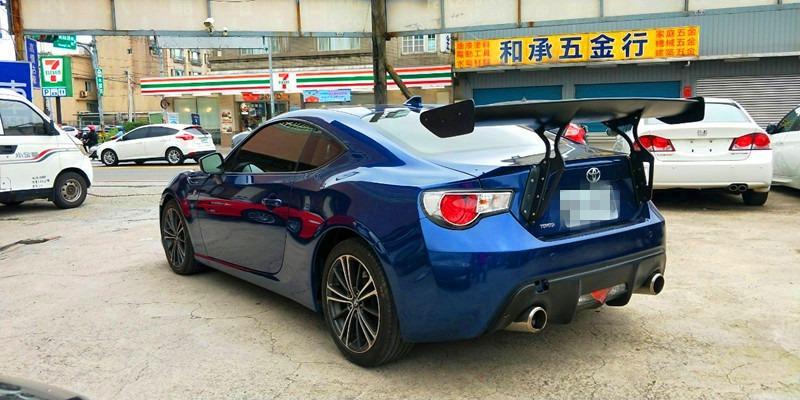 2015/TOYOTA 86/2.0/藍