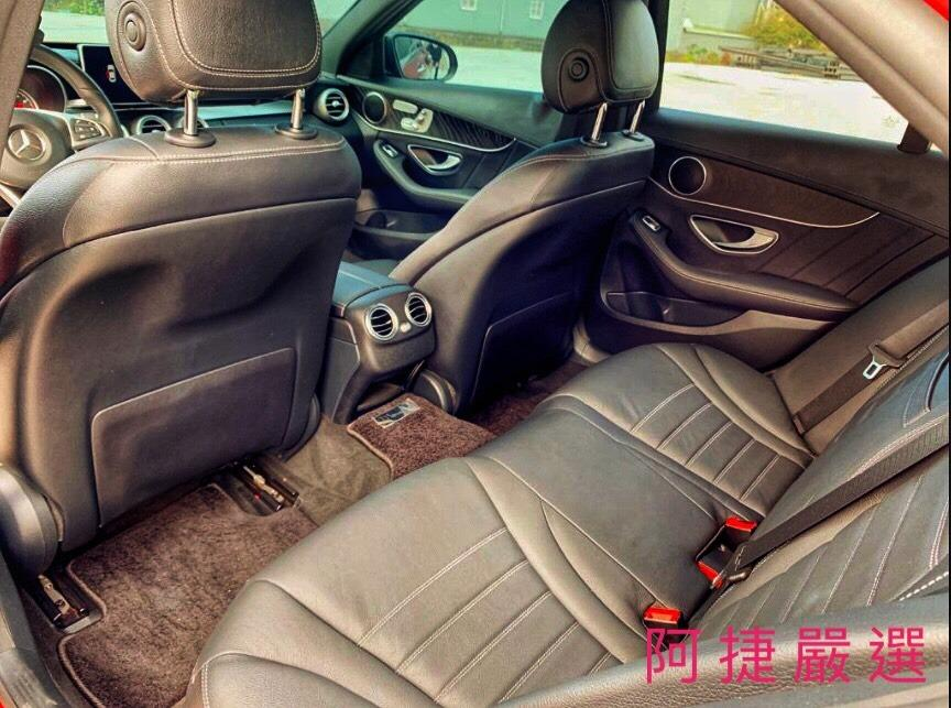2016年 Mercedes-Benz C450 跑4萬 沒薪轉沒勞保 信用瑕疵 皆可辦理 只需要雙證件強力過件