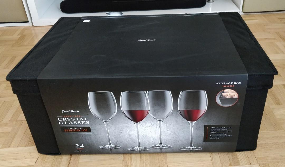 24-pc Wine Glass (by Final Touch)
