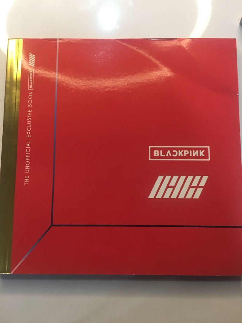 4 group in 1 book (BTS,TXT,BLACKPINK,IKON) #thr2020