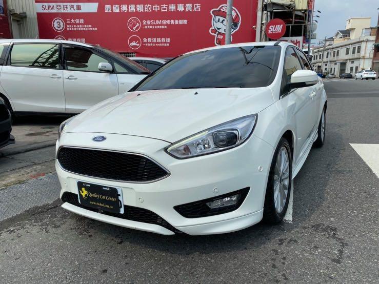 實車在店🔥 2017年 Ford Focus 1.5 頂級 跑5.9萬