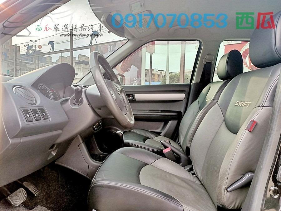 一手女用車 無任何改裝 2008年 鈴木 SWIFT 電動椅 I-KEY 皮椅 有工作即可全額貸 私下分期亦可