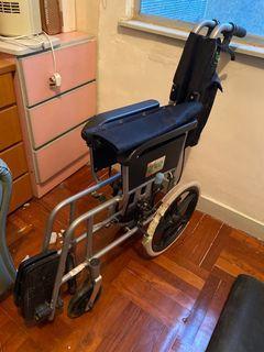 輪椅 wheelchair 老人家 接疊 手動 新淨 復康 保健