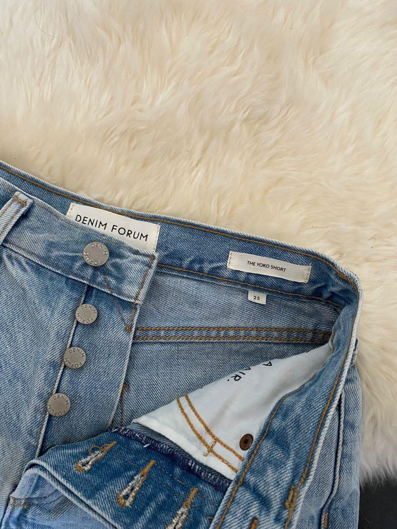 [Aritzia] Denim Forum - Yoko shorts (size 25, xxs)