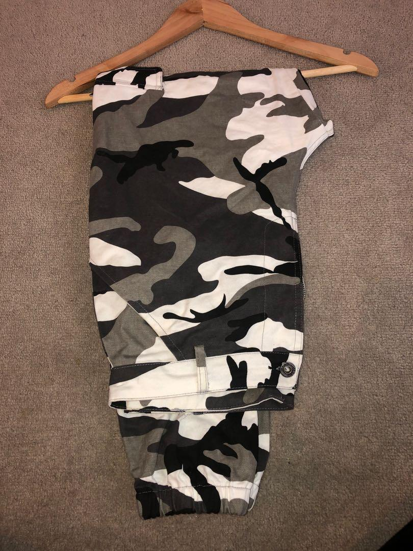 Army camo pants