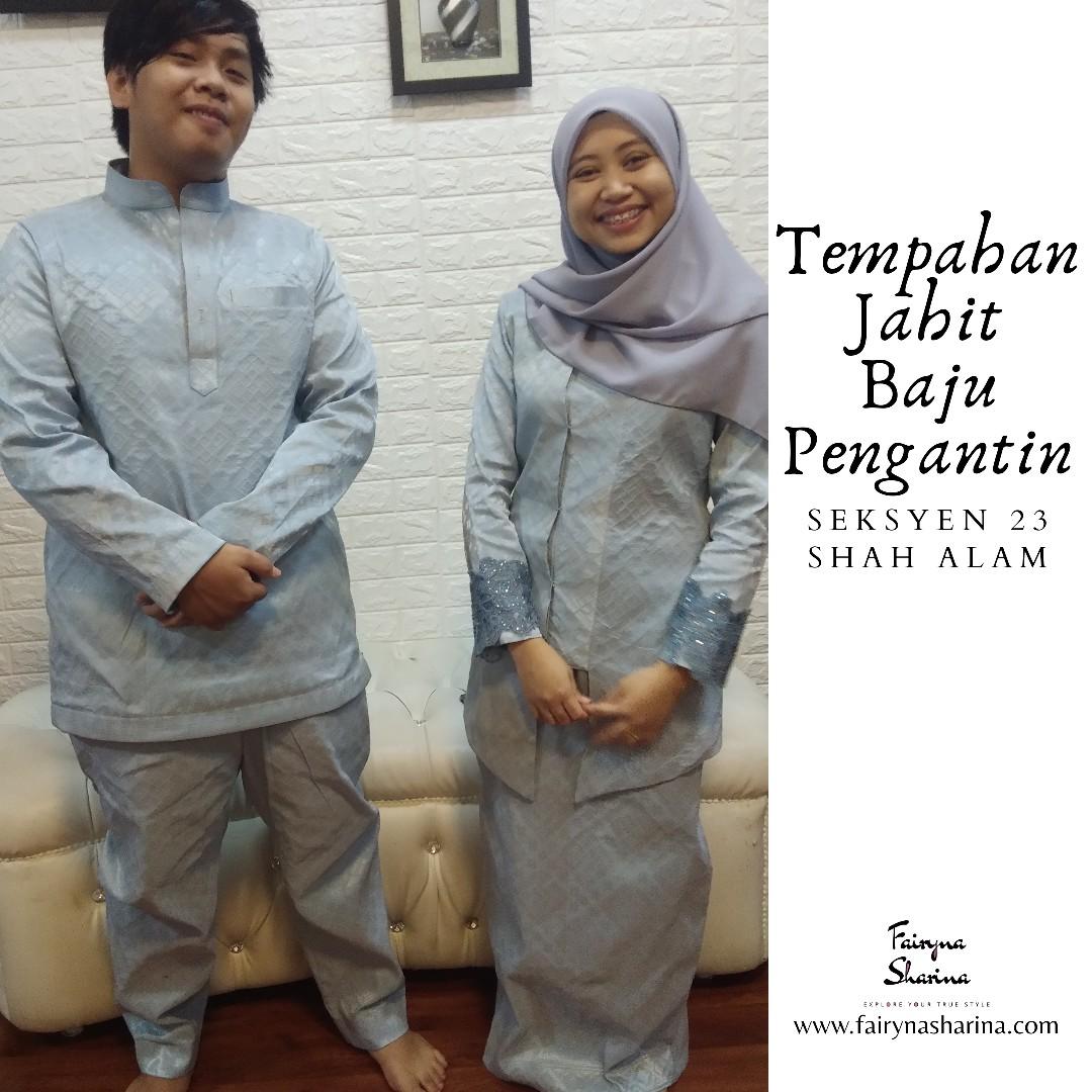 Baju Melayu Slim fit & kebaya pengantin