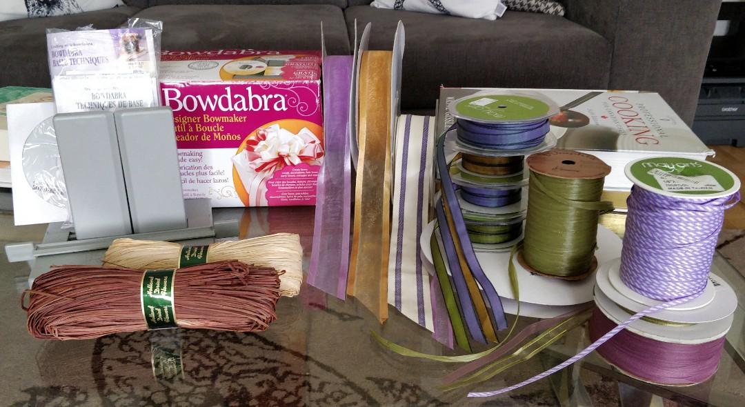 Bowdabra (Bow Maker) with Assorted Ribbons