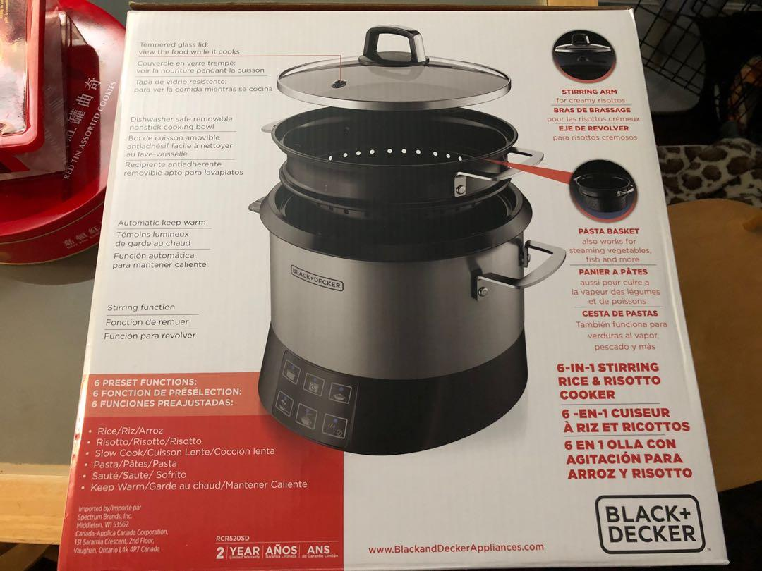 Brand New Black + Decker 6 in 1 Multi cooker Rice cooker$55