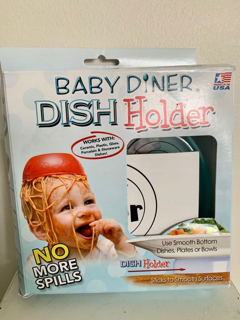 Brand new in packaging baby diner dish holder