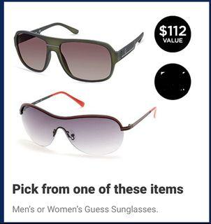 Brand New  with tag box Guess  Unisex Sun Glasses,$45